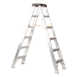 Aluminum Two-Way Stepladders