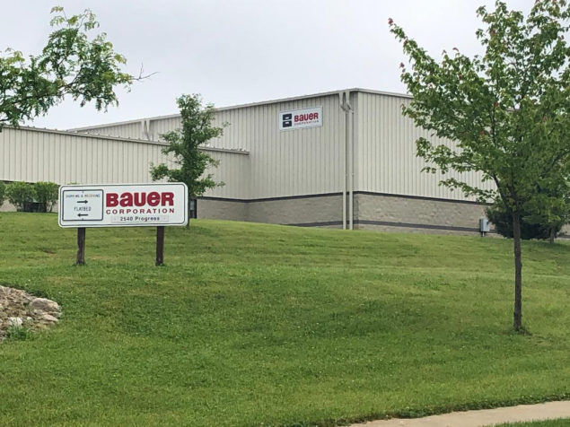 Image of Bauer Corporation by the contact from.