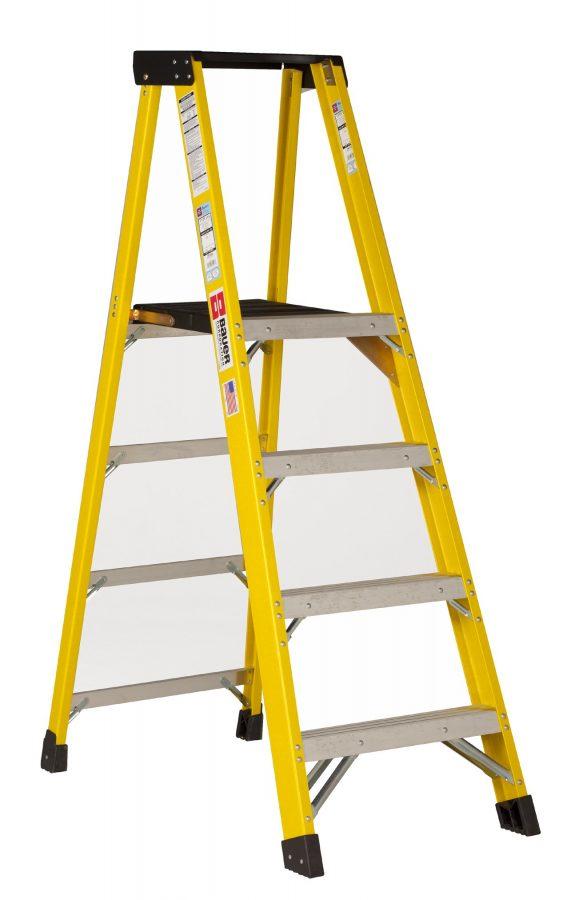 351 Series - Type 1AA Fiberglass Platform Ladders