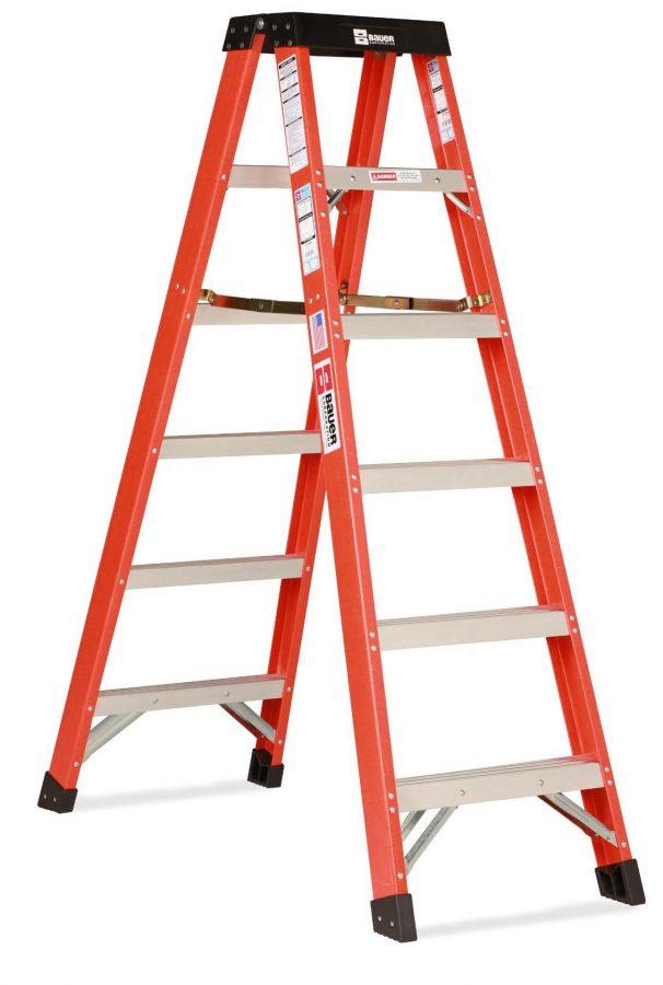 354 Series - Type 1A Fiberglass Two Way Step Ladder